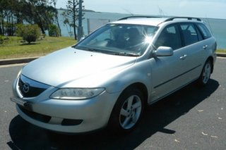 2005 Mazda 6 GY1032 Classic Silver 5 Speed Automatic Wagon
