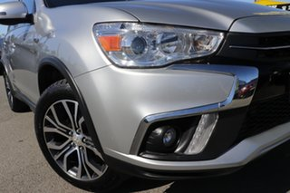 2017 Mitsubishi ASX XC MY18 LS 2WD Sterling Silver 1 Speed Constant Variable Wagon.