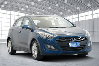 2013 Hyundai i30 GD Active Dazzling Blue 6 Speed Sports Automatic Hatchback.