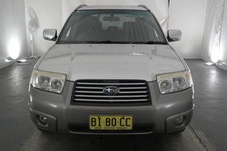 2006 Subaru Forester 79V MY06 X AWD Luxury White 5 Speed Manual Wagon.