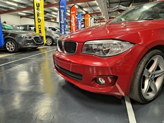 2011 BMW 1 Series E82 LCI MY11 120i Steptronic Red 6 Speed Sports Automatic Coupe