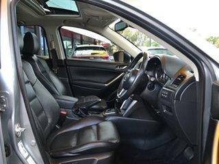 2013 Mazda CX-5 KE1021 MY13 Akera SKYACTIV-Drive AWD Silver 6 Speed Sports Automatic Wagon.