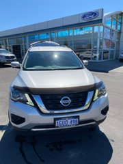 2019 Nissan Pathfinder R52 Series III MY19 ST X-tronic 2WD Silver 1 Speed Constant Variable Wagon