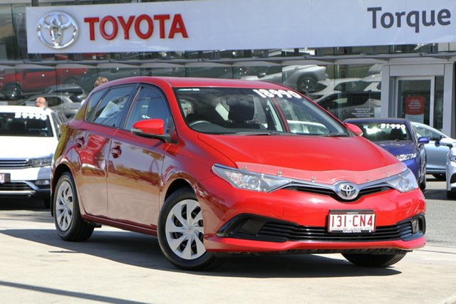 Pre-Owned Toyota Corolla ZRE182R Ascent S-CVT North Lakes, 2015 Toyota Corolla ZRE182R Ascent S-CVT Wildfire 7 Speed Constant Variable Hatchback