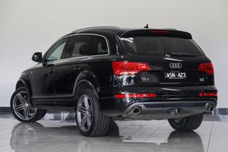 2014 Audi Q7 4L MY14 TDI Tiptronic Quattro Black 8 Speed Sports Automatic Wagon.