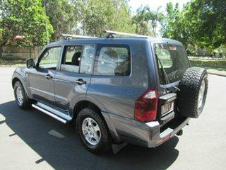 2006 Mitsubishi Pajero NP MY06 GLX Grey 5 Speed Sports Automatic Wagon.