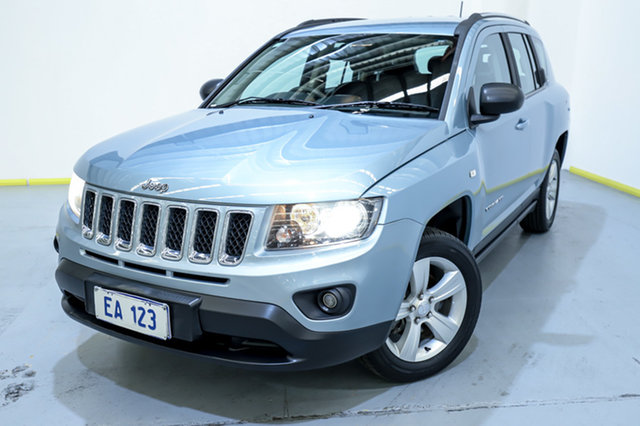 Used Jeep Compass MK MY14 Sport Canning Vale, 2013 Jeep Compass MK MY14 Sport Blue 6 Speed Sports Automatic Wagon