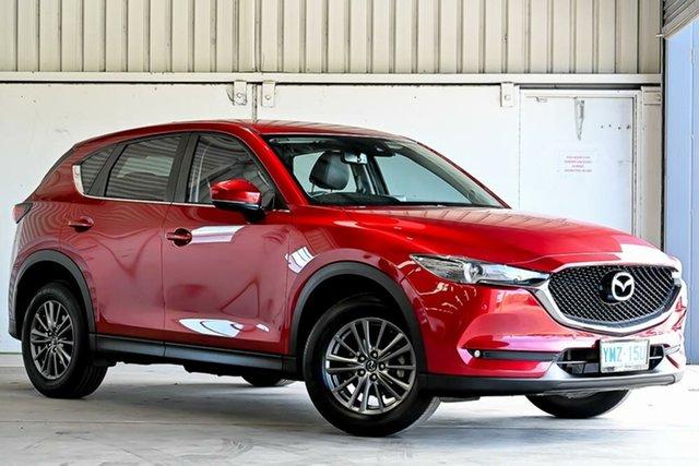 Used Mazda CX-5 KF4WLA Touring SKYACTIV-Drive i-ACTIV AWD Laverton North, 2018 Mazda CX-5 KF4WLA Touring SKYACTIV-Drive i-ACTIV AWD Red 6 Speed Sports Automatic Wagon