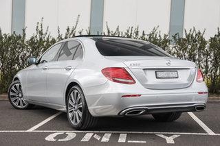 2016 Mercedes-Benz E-Class W213 E200 9G-Tronic PLUS Iridium Silver 9 Speed Sports Automatic Sedan.