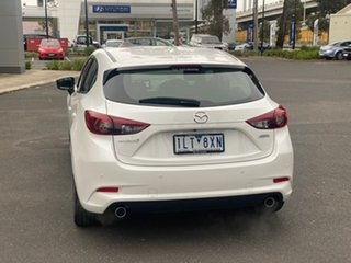 2017 Mazda 3 BN5438 SP25 SKYACTIV-Drive GT Crystal White Pearl 6 Speed Sports Automatic Hatchback