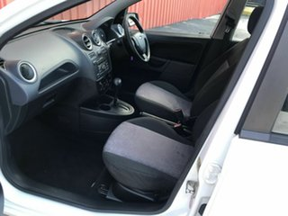2007 Ford Fiesta WQ LX White 4 Speed Automatic Hatchback