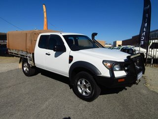 2010 Ford Ranger PK XL (4x4) White 5 Speed Manual Cab Chassis.
