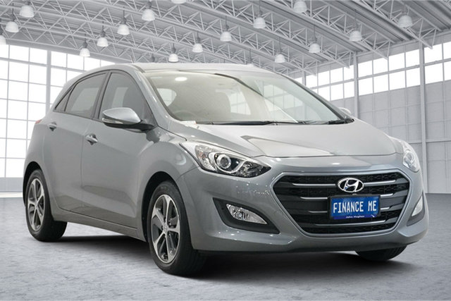 Used Hyundai i30 GD4 Series II MY17 Active X Victoria Park, 2016 Hyundai i30 GD4 Series II MY17 Active X Sparkling Metal 6 Speed Sports Automatic Hatchback
