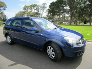 2006 Holden Astra AH MY06 CDX Blue 5 Speed Manual Wagon.