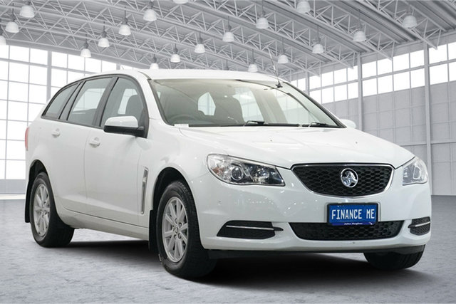 Used Holden Commodore VF II MY16 Evoke Sportwagon Victoria Park, 2016 Holden Commodore VF II MY16 Evoke Sportwagon White 6 Speed Sports Automatic Wagon