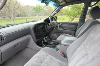 2002 Toyota Landcruiser FZJ105R GXL Advantage Limited Edition Blue 4 Speed Automatic Wagon