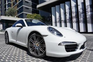 2014 Porsche 911 991 Carrera S White 7 Speed Sports Automatic Dual Clutch Coupe.
