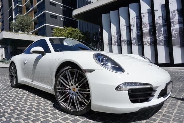 Used Porsche 911 991 Carrera S East Brisbane, 2014 Porsche 911 991 Carrera S White 7 Speed Sports Automatic Dual Clutch Coupe