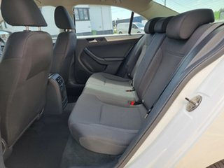 2014 Volkswagen Jetta 1B MY15 118TSI DSG Trendline Pure White 7 Speed Sports Automatic Dual Clutch