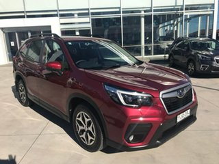 2021 Subaru Forester S5 MY21 2.5i CVT AWD Crimson Red 7 Speed Constant Variable Wagon