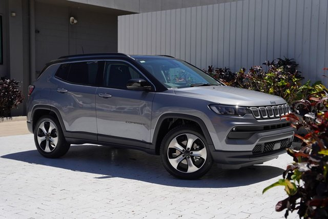 New Jeep Compass M6 MY21 Launch Edition FWD Cairns, 2021 Jeep Compass M6 MY21 Launch Edition FWD Grey Magnesio 6 Speed Automatic Wagon
