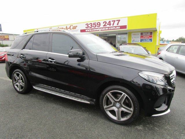 Used Mercedes-Benz GLE-Class W166 GLE250 d 9G-Tronic 4MATIC Kedron, 2016 Mercedes-Benz GLE-Class W166 GLE250 d 9G-Tronic 4MATIC Black 9 Speed Sports Automatic Wagon