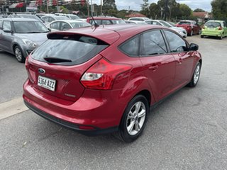2013 Ford Focus LW MkII Trend PwrShift Maroon 6 Speed Sports Automatic Dual Clutch Hatchback