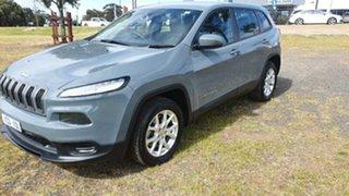 2014 Jeep Cherokee KL Sport Grey 9 Speed Sports Automatic Wagon.