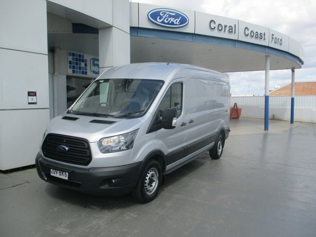 Used Ford Transit VO MY17.25 350L (LWB) FWD Mid Roof Bundaberg, 2016 Ford Transit VO MY17.25 350L (LWB) FWD Mid Roof Silver 6 Speed Automatic Van
