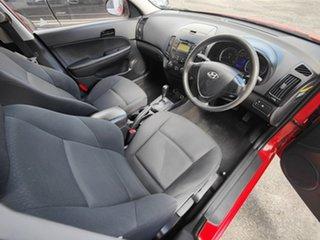2010 Hyundai i30 FD MY10 SX Shine Red 4 Speed Automatic Hatchback