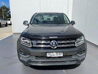 2017 Volkswagen Amarok 2H MY17 TDI550 4MOTION Perm Highline Grey 8 Speed Automatic Utility.