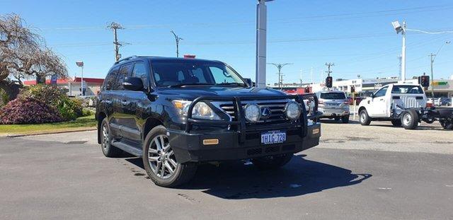 Used Lexus LX URJ201R LX570 Morley, 2013 Lexus LX URJ201R LX570 Black 6 Speed Sports Automatic Wagon