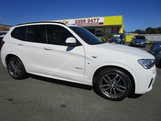 2016 BMW X3 F25 LCI xDrive30d Steptronic White 8 Speed Sports Automatic Wagon.