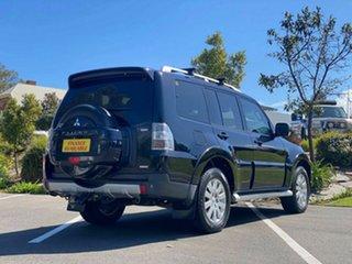 2007 Mitsubishi Pajero NS Exceed Black 5 Speed Sports Automatic Wagon