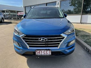 2020 Hyundai Tucson Aqua Blue DCT-7SPEED 4WD TUCSON (TL) 5 Seater Wagon.
