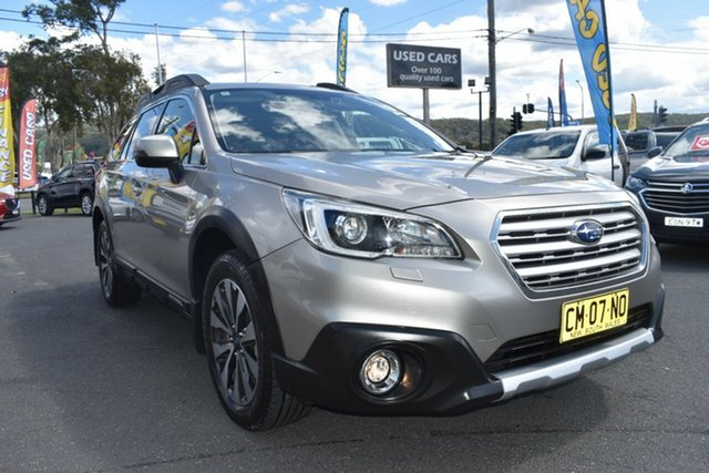 Used Subaru Outback B6A MY16 2.5i CVT AWD Premium Gosford, 2016 Subaru Outback B6A MY16 2.5i CVT AWD Premium Gold 6 Speed Constant Variable Wagon