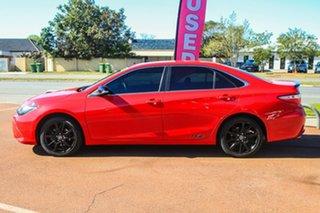 2016 Toyota Camry ASV50R RZ Red 6 Speed Sports Automatic Sedan.