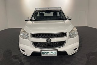 2015 Holden Colorado RG MY16 LS 4x2 Summit White 6 speed Automatic Cab Chassis.