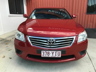 2010 Toyota Aurion GSV40R MY10 AT-X Red 6 Speed Sports Automatic Sedan.