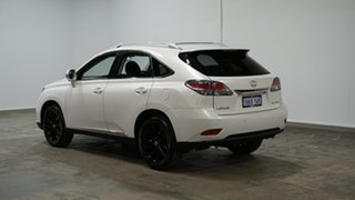 2013 Lexus RX AGL10R MY12 RX270 White 6 Speed Sports Automatic Wagon.