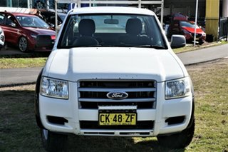 2007 Ford Ranger PJ XL White 5 Speed Manual Cab Chassis.
