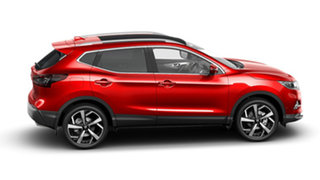 2021 Nissan Qashqai J11 Series 3 MY20 Ti X-tronic Magnetic Red 1 Speed Constant Variable Wagon