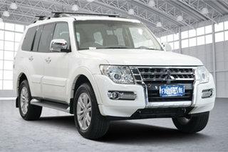 2016 Mitsubishi Pajero NX MY16 Exceed White 5 Speed Sports Automatic Wagon.