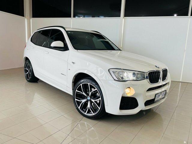 Used BMW X3 F25 LCI xDrive20d Steptronic Deer Park, 2016 BMW X3 F25 LCI xDrive20d Steptronic White 8 Speed Automatic Wagon