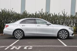 2016 Mercedes-Benz E-Class W213 E200 9G-Tronic PLUS Iridium Silver 9 Speed Sports Automatic Sedan
