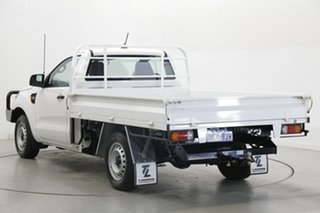 2020 Ford Ranger PX MkIII 2020.75MY XL White 6 Speed Manual Single Cab Chassis.