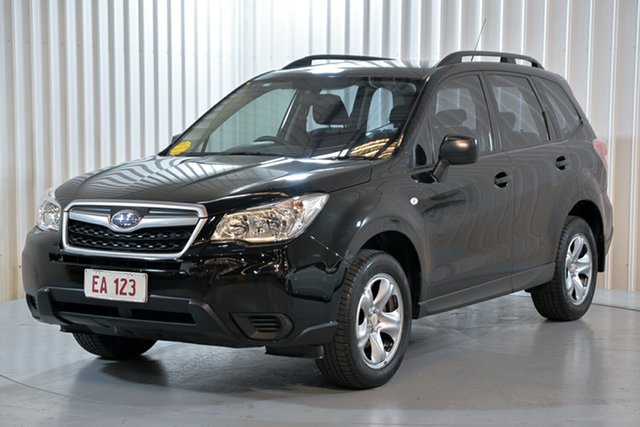 Used Subaru Forester S4 MY14 2.5i Lineartronic AWD Hendra, 2014 Subaru Forester S4 MY14 2.5i Lineartronic AWD Black 6 Speed Constant Variable Wagon