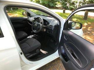 2018 Mitsubishi Mirage LA MY18 ES White Continuous Variable Hatchback
