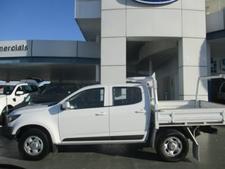 2017 Holden Colorado LS LS (4x4) White 6 Speed Automatic Dual Cab Chassis.