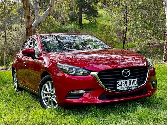 Used Mazda 3 BN5478 Neo SKYACTIV-Drive Sport Reynella, 2018 Mazda 3 BN5478 Neo SKYACTIV-Drive Sport Soul Red Crystal 6 Speed Sports Automatic Hatchback